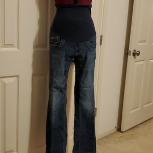 Oh Baby maternity bootcut jeans